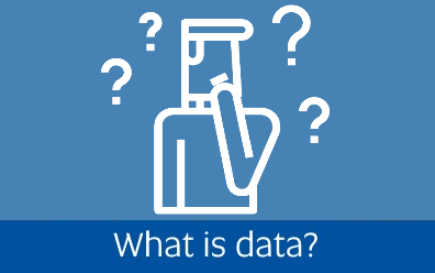 Navigate to the what is data page within this guide