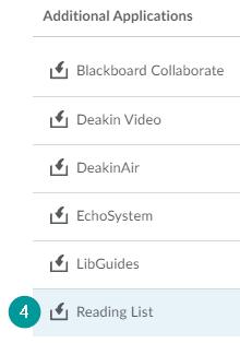 Reading List button