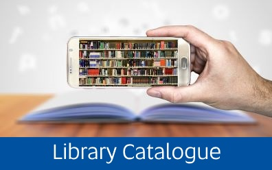 Navigate to Library Catalogue page