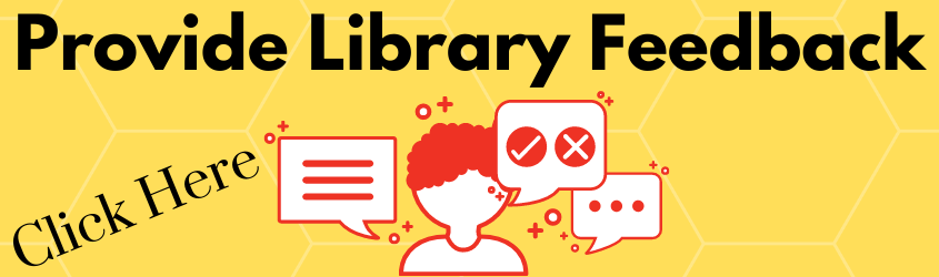Provide the library with feedback