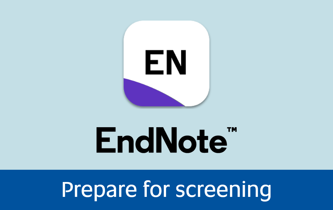 Click to access Prepare for screening page