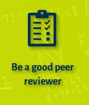 Be a good peer reviewer