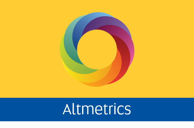 Navigate to the Altmetrics tab
