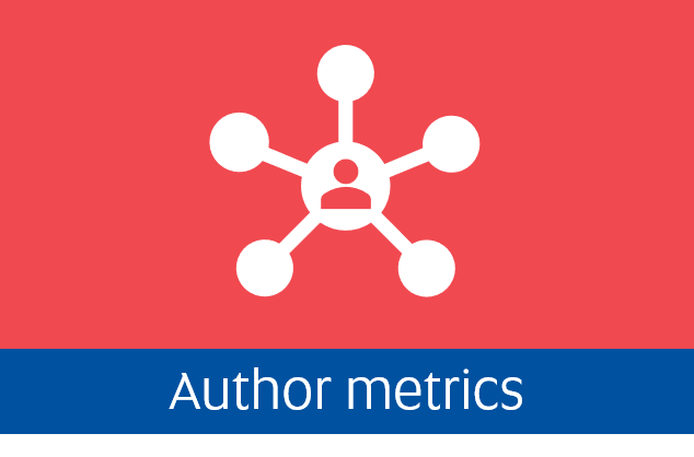 Navigate to the Author metrics tab