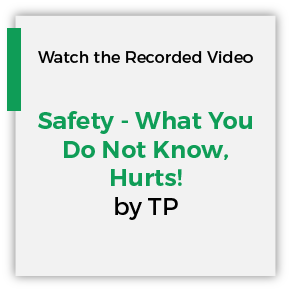 Safety What you do not know Hurts by TP