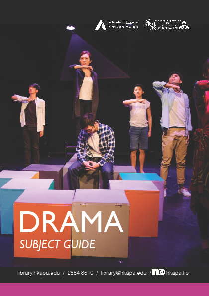 Subject Guide - Drama