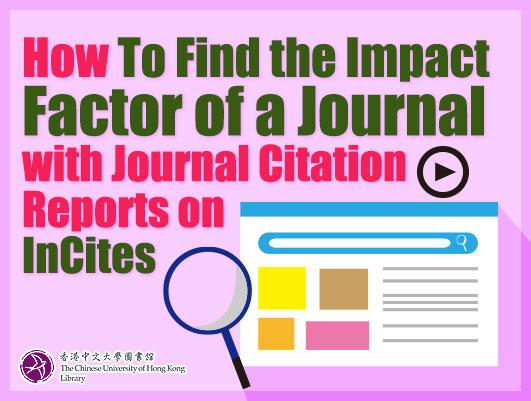 How to Find the Impact Factor of a Journal