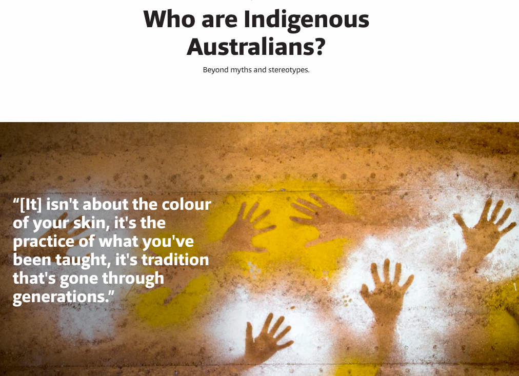 who are Indigenous Australians