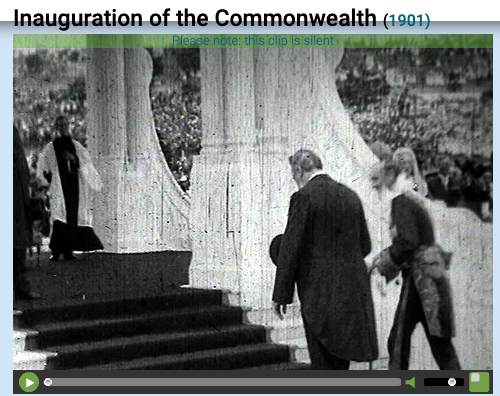 Inauguration of the Commonwealth