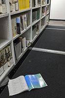 Colour photo of magazine in Burwood periodicals compactus