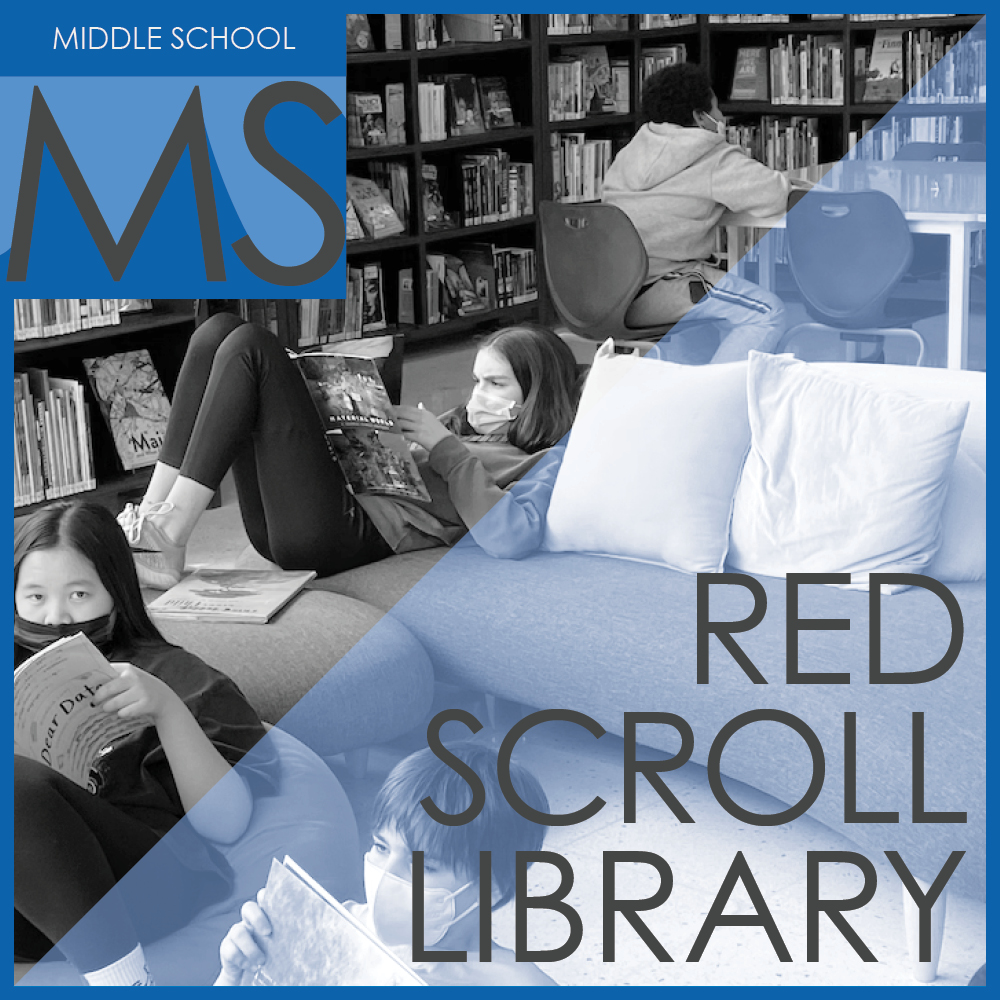 red scroll library
