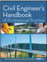 Book cover: Civil Engineer's Handbook of Professional Practice