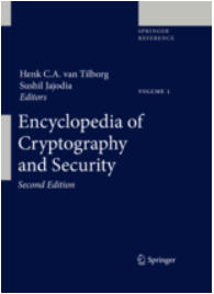 Book cover: Encyclopedia of Cryptography and Security