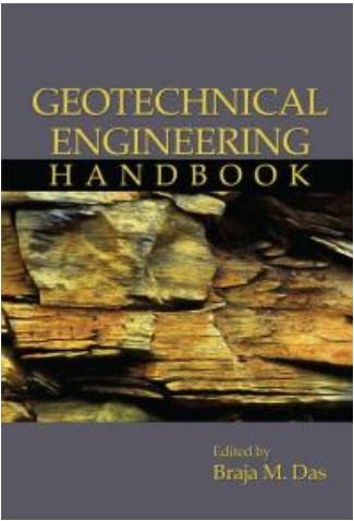 Book cover: Geotechnical Engineering Handbook