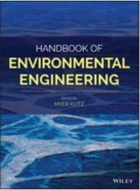 Book cover: Handbook of environmental engineering