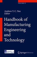 Book cover: Handbook of Manufacturing Engineering and Technology
