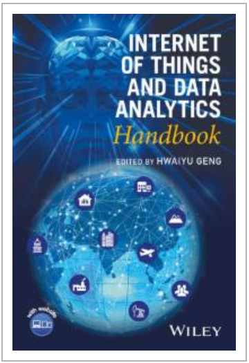 Book cover: The Internet of Things and Data Analytics Handbook