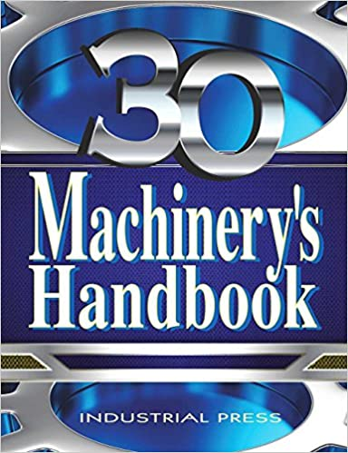 Book cover: Machinery's Handbook (30th Edition)