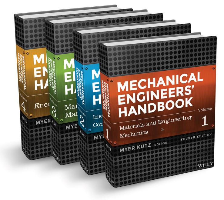 Book cover: Mechanical Engineers' Handbook