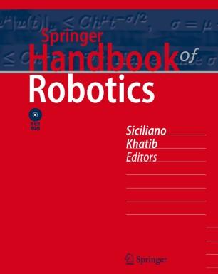 Book cover: Springer Handbook of Robotics