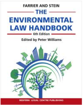 Book cover: The Environmental Law Handbook : Planning & Land Use in NSW