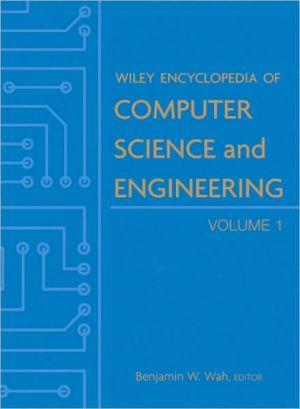 Book cover: Wiley Encyclopedia of Computer Science and Engineering