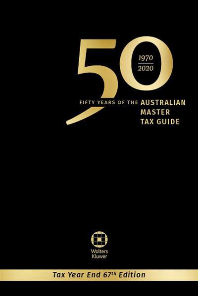 Australian Master Tax Guide 2020