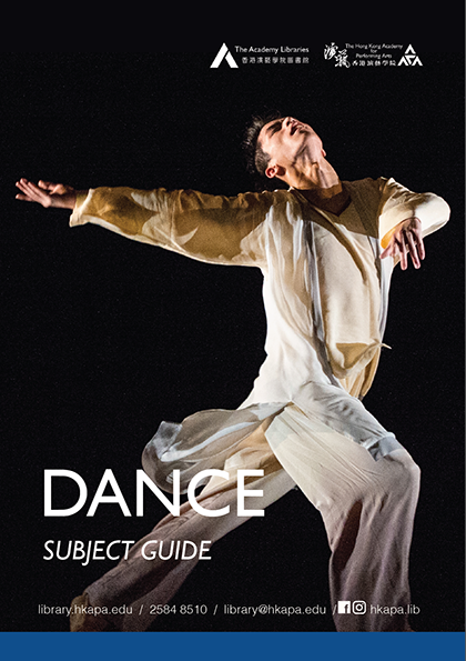 Subject Guide - Dance