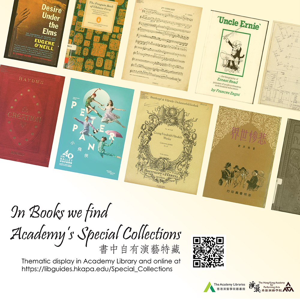 In Books we find Academy's Special Collections