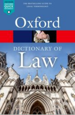 Oxford Dictionary of Law image