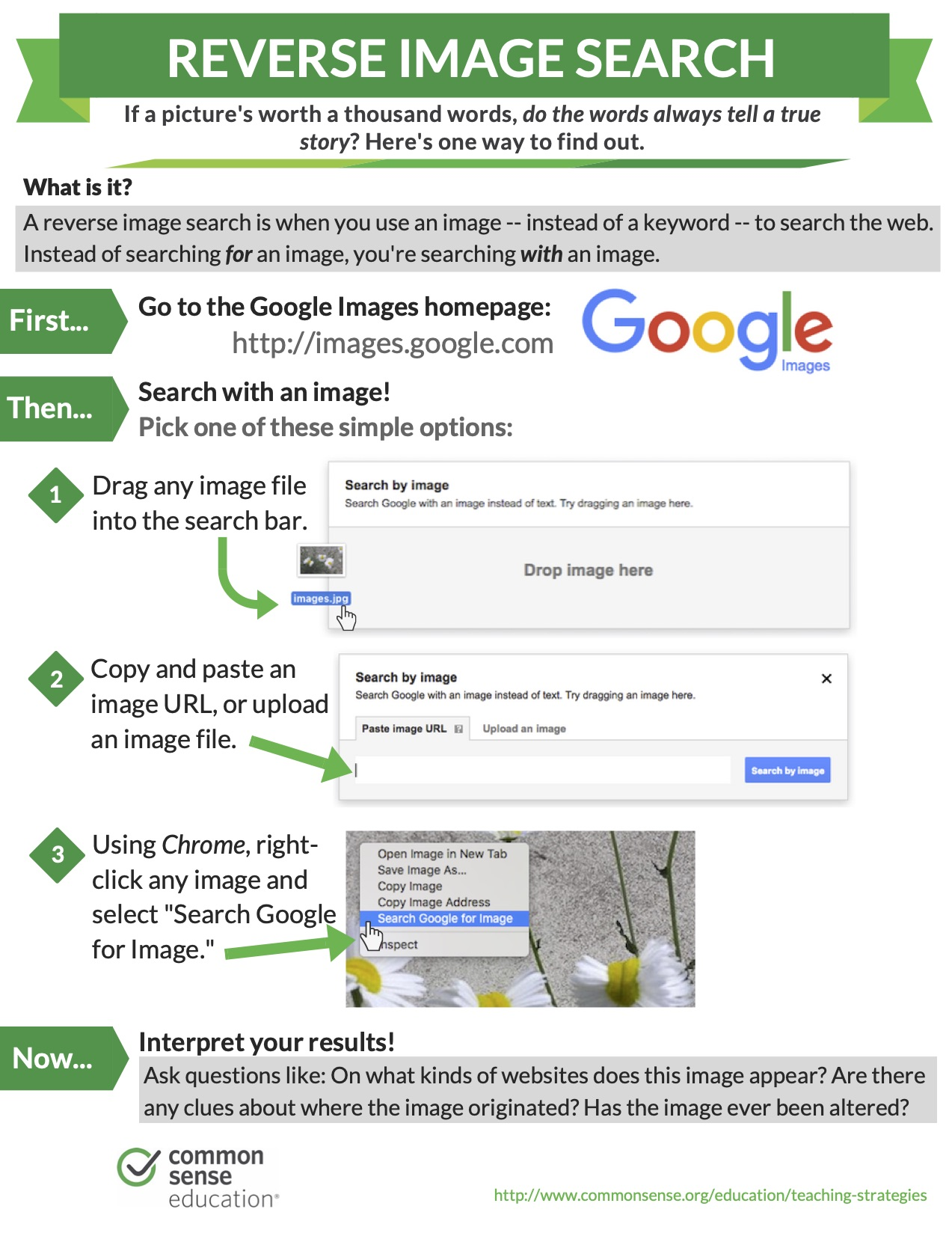 Common Sense Media How to Reverse Image Search