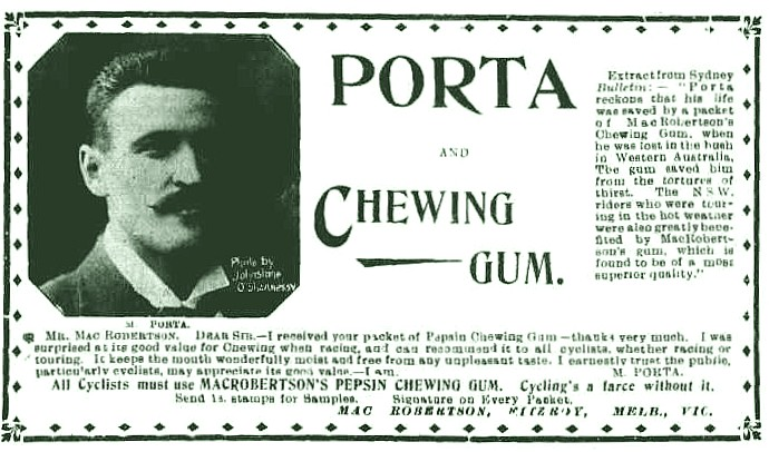 Chewing Gum advertisement 11 Feb 1897p19 Punch.