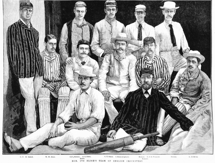 Hon Ivo Bligh's team of English cricketers IAN29/11/82/184
