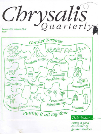 Cover image of Chrysalis Quarterly