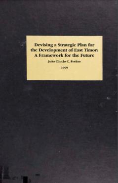 Cover image: Devising a strategic plan for the development of East Timor