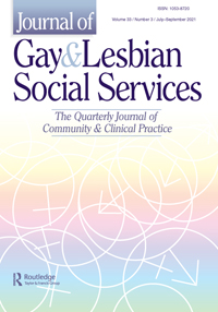 Cover image of Gay & Lesbian Social Services