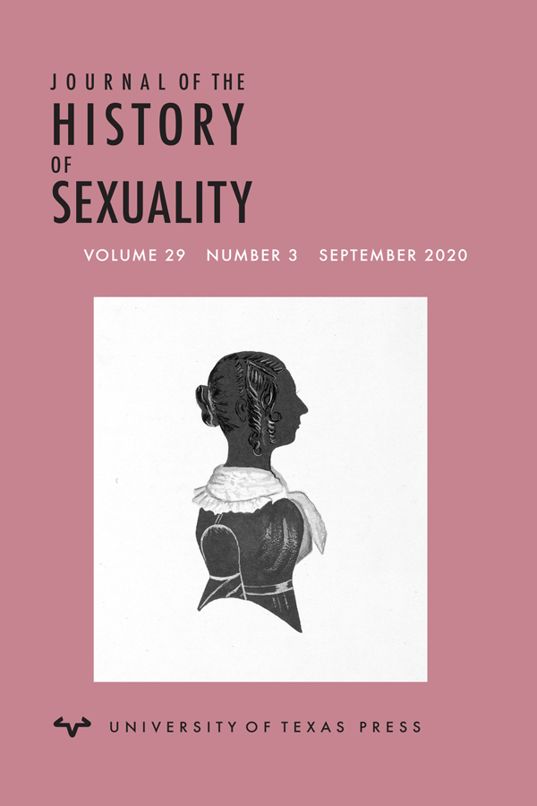 Cover image of the Journal of the History of Sexuality