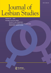 Cover image of the Journal of Lesbian Studies