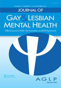 Cover image Journal of Gay & Lesbian Mental Health