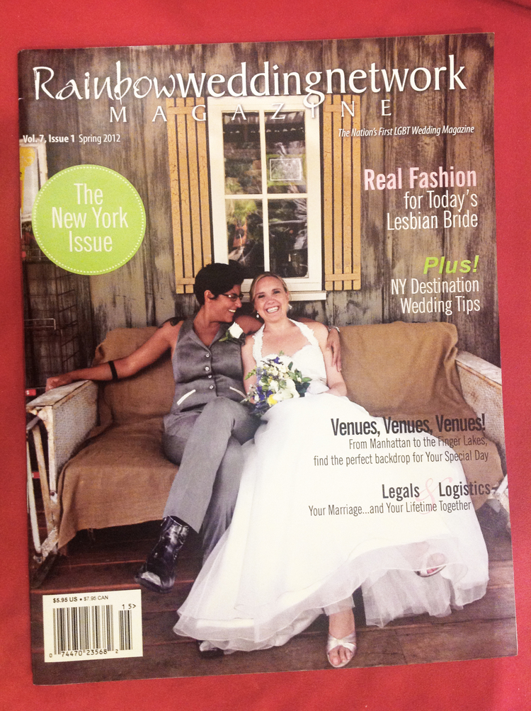 Cover image of RainbowWeddingNetwork Magazine