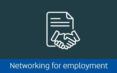 Link to networking for employment page