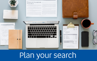 plan your search