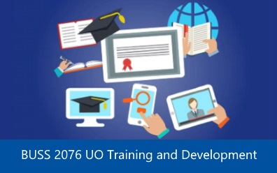 Navigate to BUSS 2076 UO Training and Development assignment help