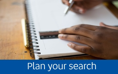 Navigate to plan your search page