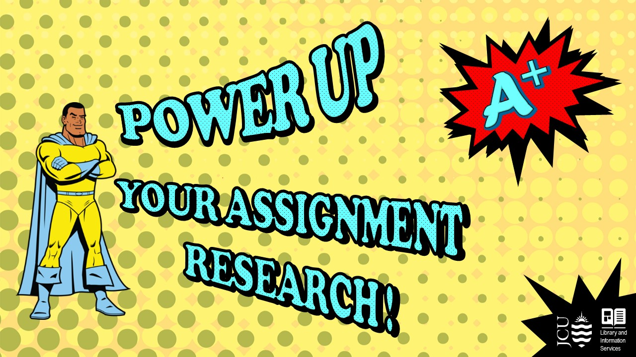 Power up your assignment research image