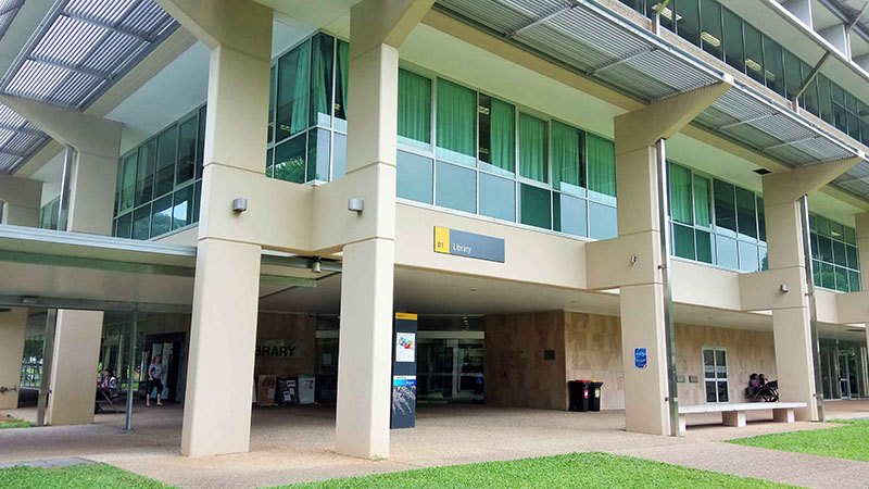 Cairns Library Building, own work