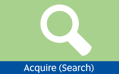 Navigate to Acquire / Search page