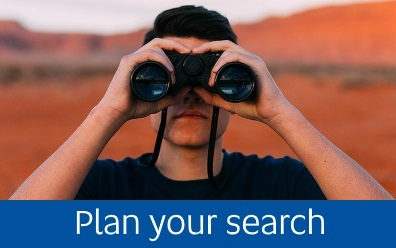 Navigate to the Plan your search page within this guide