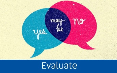 Navigate to the Evaluation page within this guide