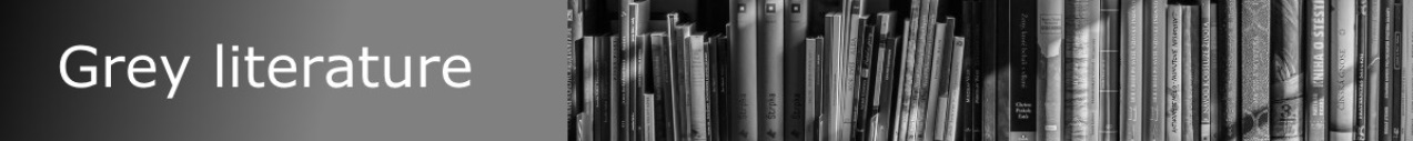 Navigate to the Grey Literature research guide